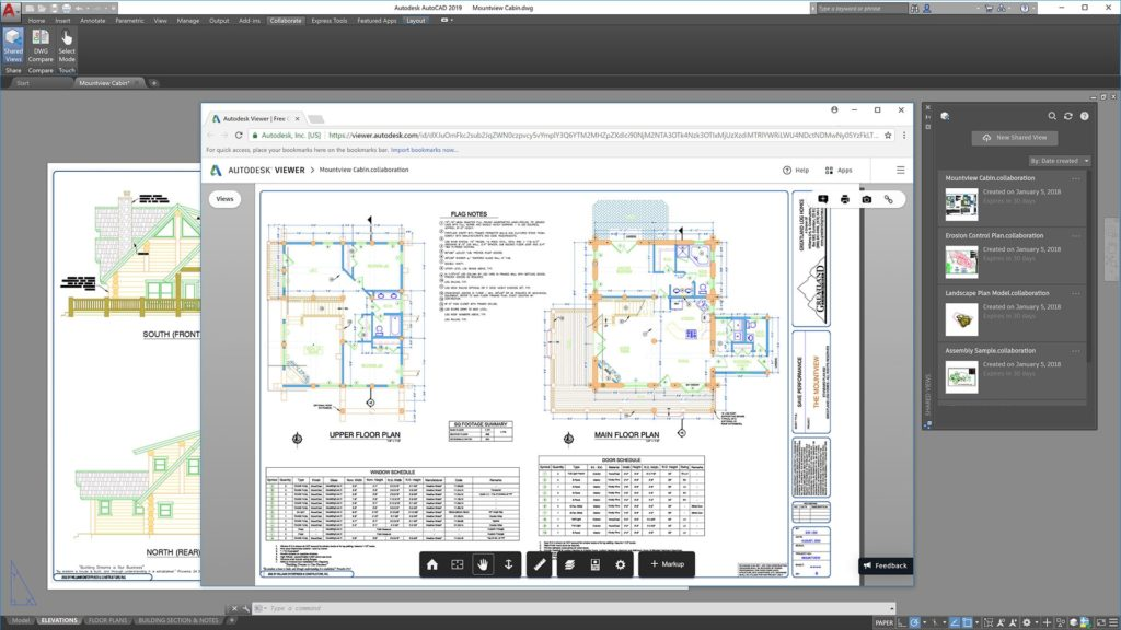 Publishing a Shared View from AutoCAD 2019
